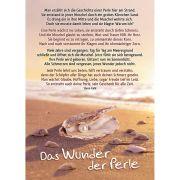 Postkarten: Das Wunder der Perle, 4 Stück