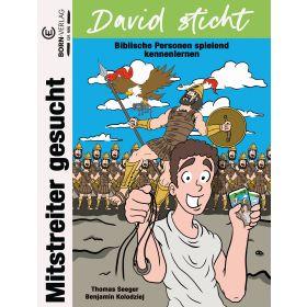 David sticht. Mitstreiter gesucht - Bibelquartett
